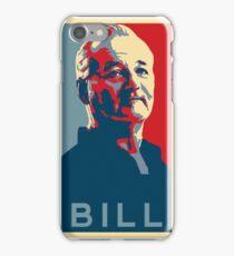 Bill Murray, Obama Hope Poster iPhone Case/Skin