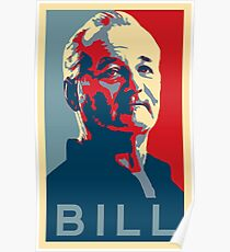 Bill Murray, Obama Hope Poster Poster