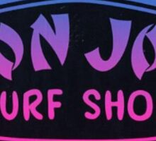 Ron Jon Surf Shop Logo Sticker