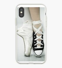 Converse / Spitzenschuh iPhone-Hülle & Cover