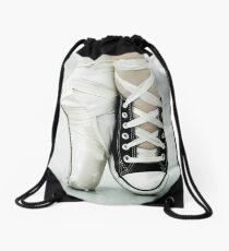 Converse / Pointe Shoe Drawstring Bag
