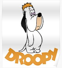 Droopy Cartoon Poster