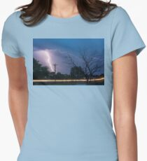 17th Street Car Lights and Lightning Strikes T-Shirt