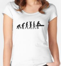 Evolution physiotherapist Women's Fitted Scoop T-Shirt