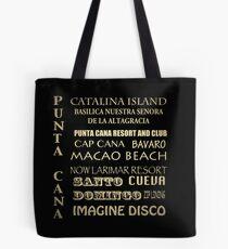 Punta Cana Famous Landmarks Tote Bag