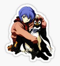 Rei and Pen Sticker
