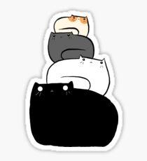 Pegatina Cat Stack