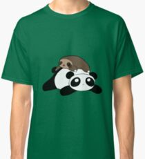 Little Sloth and Panda Classic T-Shirt