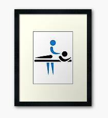 Physiotherapist Framed Print