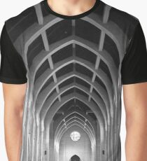The Monastery of the Holy Spirit Graphic T-Shirt