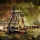 USS Constitution  by LudaNayvelt
