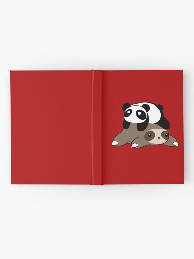 Alternate view of Sloth and Panda Hardcover Journal