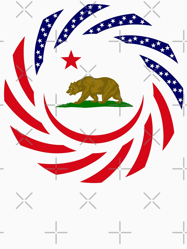 Californian Murican Patriot Flag Series by carbonfibreme