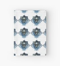 Deathly Blue Hardcover Journal