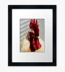One Badass Mother Clucker Framed Print