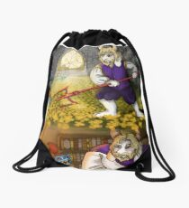 Hot-headed child Drawstring Bag