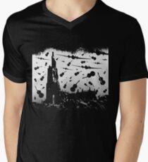 Psycho Attack - White Print T-Shirt