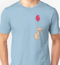Fly away, little doggy. Unisex T-Shirt