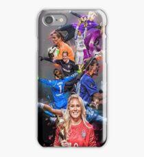 Ashlyn Harris From University of North Carolina to Orlando Pride + National Team iPhone Case/Skin