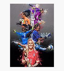 Ashlyn Harris From University of North Carolina to Orlando Pride + National Team Photographic Print