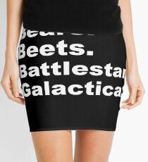 Bears, Beets, Battlestar Galactica Mini Skirt