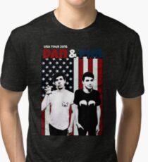 Dan and Phil Tour Tri-blend T-Shirt