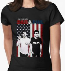 Dan and Phil Tour Women's Fitted T-Shirt