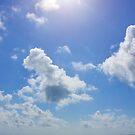 Sunny Beach Sky by Dagoth