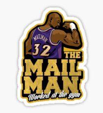 The Mailman Sticker