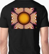The Mad Hatter Spiral Staircases fractal swirls Unisex T-Shirt