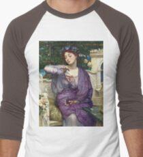 Edward Poynter - Lesbia And Her Sparrow 1907. Poynter - woman portrait. T-Shirt