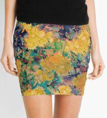 flores amarillas Mini Skirt