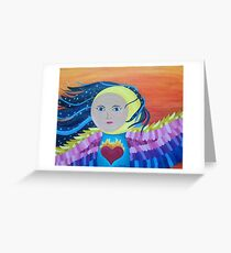 When the Moon Comes Out to Play Greeting Card