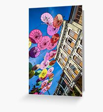 Colourful times in Penang Greeting Card