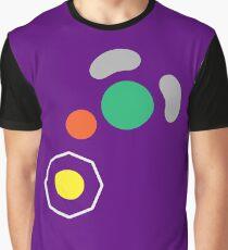 Gamecube Controller Button Symbol Graphic T-Shirt
