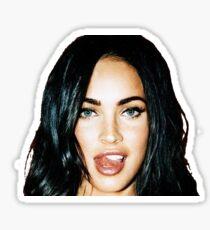 Megan_Tongue Sticker
