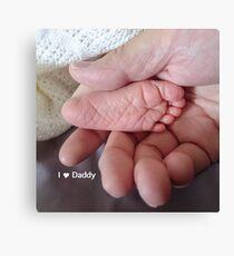 love daddy Canvas Print