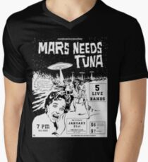 Mars Needs Tuna PUNK FLYER Retro T-Shirt