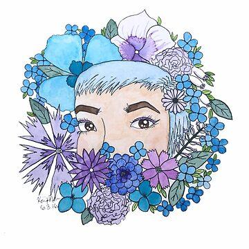 Floral Xoe by KaitDessine