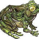 Mechanimal: Frog by derangedhyena