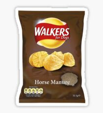 Walkers for Dogs - Horse Manure flavour Sticker