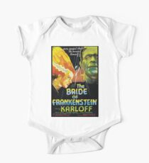 The Bride Of Frankenstein One Piece - Short Sleeve