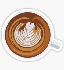 Cup-a-Cappuccino Sticker