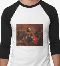 Eugene Delacroix  - A Turk Smoking Sitting On A Sofa.  Delacroix  - man portrait. T-Shirt