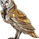 Mechanimal - Owl  by derangedhyena