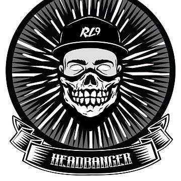 RL9 - HeadBanger Squad(Front) by BrittainDesigns