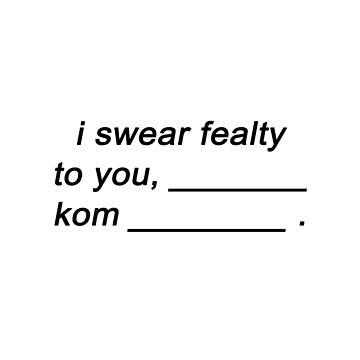 The 100 - i swear fealty to you by alyciadebnam