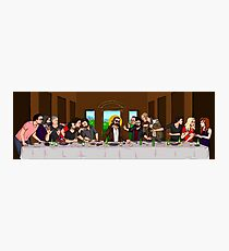 The Last Supper of the High Church of the Holy Dick  Photographic Print