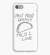 Taco Bell Saga iPhone Case/Skin