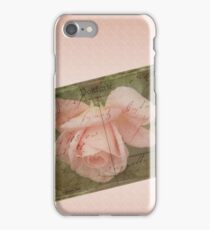 Faded Love ~ I Still Think of You...  iPhone Case/Skin